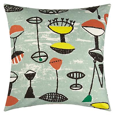 Image of Lucienne Day Flotilla Cushion, Sage