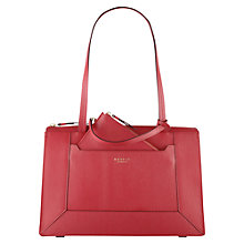 Buy Radley Hardwick Leather Medium Tote Bag, Pink Online at johnlewis.com