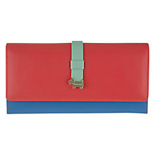 Buy Radley Hamilton Leather Matinee Purse, Blue Online at johnlewis.com