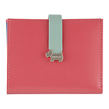 Buy Radley Hamilton Leather Purse, Pink Online at johnlewis.com