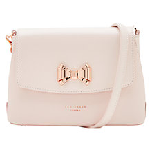 Buy Ted Baker Tessi Bow Leather Across Body Bag Online at johnlewis.com