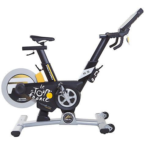 buy proform tour de france pro 5 0 indoor studio bike black white yellow john lewis. Black Bedroom Furniture Sets. Home Design Ideas