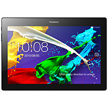 "Buy Lenovo Tab 2 A10-30 Tablet, Android, Wi-Fi, 2GB RAM, 32GB, 10.1"", Midnight Blue Online at johnlewis.com"