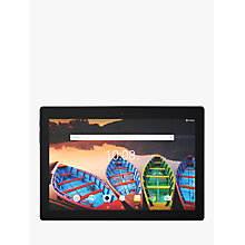 "Buy Lenovo Tab 3 10 Tablet, Android, Wi-Fi, 1GB RAM, 16GB, 10.1"" HD, Slate Online at johnlewis.com"