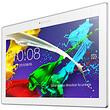 "Buy Lenovo Tab 2 A10-30 Tablet, Android, Wi-Fi, 1GB RAM, 32GB, 10.1"", Midnight Blue Online at johnlewis.com"