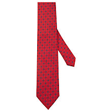 Buy Hackett London Matte Flower Silk Tie Online at johnlewis.com