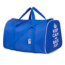 Buy Tappers and Pointers Keep Calm and Back Flip Holdall, Blue Online at johnlewis.com