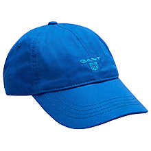 Buy Gant Contrast Twill Baseball Cap, One Size, Blue Online at johnlewis.com