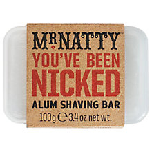 Buy Mr Natty Alum Shaving Bar Online at johnlewis.com