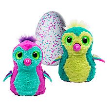 Buy Hatchimals Penguala Teal Egg Online at johnlewis.com