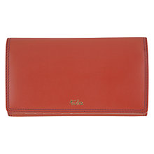 Buy Tula Smooth Originals Large Leather Flapover Matinée Purse Online at johnlewis.com