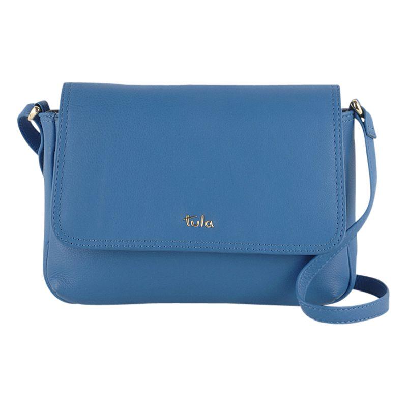 Tula Tula Nappa Originals Leather Small Flap Over Across Body Bag