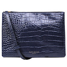 Buy Kurt Geiger Pisces Leather Pouch Clutch Bag Online at johnlewis.com