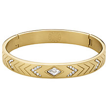 Buy Dyrberg/Kern Crystal Hinged Bangle Online at johnlewis.com