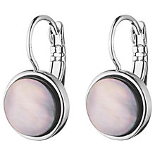 Buy Dyrberg/Kern Mother of Pearl Round Drop French Hook Earrings Online at johnlewis.com