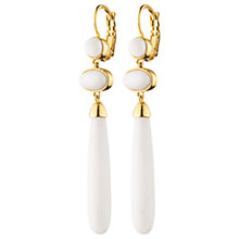 Buy Dyrberg/Kern Cabochon Drop Hook Earrings Online at johnlewis.com