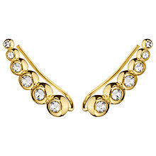 Buy Dyrberg/Kern Swarovski Crystal Ear Cuffs Online at johnlewis.com