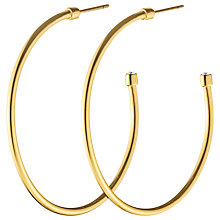 Buy Dyrberg/Kern Slim Crystal Hoop Earrings Online at johnlewis.com