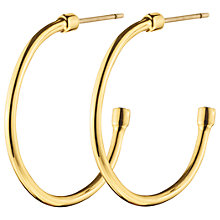 Buy Dyrberg/Kern Crystal Hoop Earrings Online at johnlewis.com