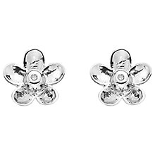 Buy Hot Diamonds Flower Stud Earrings Online at johnlewis.com