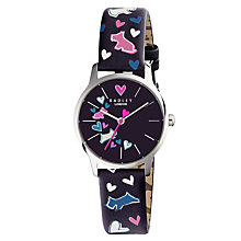 Buy Radley Women's Love My Dog Leather Strap Watch Online at johnlewis.com
