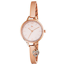 Buy Radley RY4268 Women's Love Lane Crystal Bracelet Strap Watch, Rose Gold/Blush Online at johnlewis.com