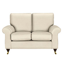 Buy John Lewis Hannah Small 2 Seater Sofa, Castor Leg, Matilda Natural Online at johnlewis.com