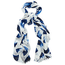 Buy Phase Eight Brushstroke Print Scarf, Multi Online at johnlewis.com