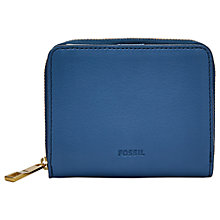 Buy Fossil Emma Mini Leather RFID Purse Online at johnlewis.com
