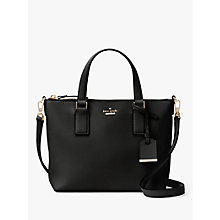 Buy kate spade new york Cameron Street Lucie Leather Across Body Bag Online at johnlewis.com