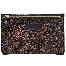Buy Liebeskind Kiwi F7 Leather Purse Pouch, Nairobi Black Online at johnlewis.com