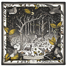 Buy Aspinal of London Dockery Robin Silk Square Scarf Online at johnlewis.com