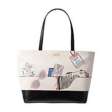 Buy kate spade new york Souvenirs Francis Leather Shoulder Bag, Multi Online at johnlewis.com