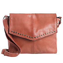 Buy Pieces Vanity Leather Across Body Bag Online at johnlewis.com