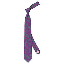 Buy Thomas Pink Rossi Palm Woven Silk Tie Online at johnlewis.com