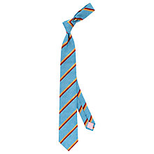 Buy Thomas Pink Caro Stripe Woven Tie, Blue/Multi Online at johnlewis.com