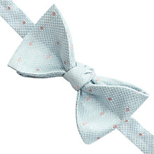 Buy Thomas Pink Nasmyth Self Tie Silk Bow Tie, Pale Blue/Pink Online at johnlewis.com