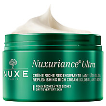 Buy NUXE Nuxuriance® Ultra Global Anti-Ageing Replenishing Rich Cream, 50ml Online at johnlewis.com