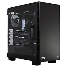 Buy Scan Carbon 1080 SLI Desktop PC, Intel Core i7, 32GB RAM, 2TB HDD + 480GB SSD, Black Online at johnlewis.com