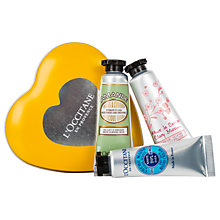 Buy L'Occitane Little Heart From Provence Gift Set Online at johnlewis.com