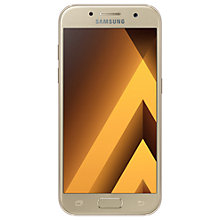 "Buy Samsung Galaxy A3 Smartphone (2017), Android, 4.7"", 4G LTE, SIM Free, 16GB Online at johnlewis.com"