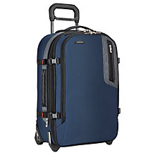 Buy Briggs & Riley BRX Explore Domestic 56cm Cabin Case, Blue Online at johnlewis.com