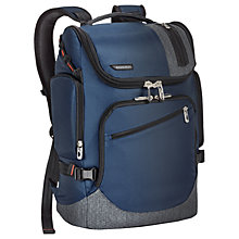 Buy Briggs & Riley BRX Excursion Backpack, Blue Online at johnlewis.com