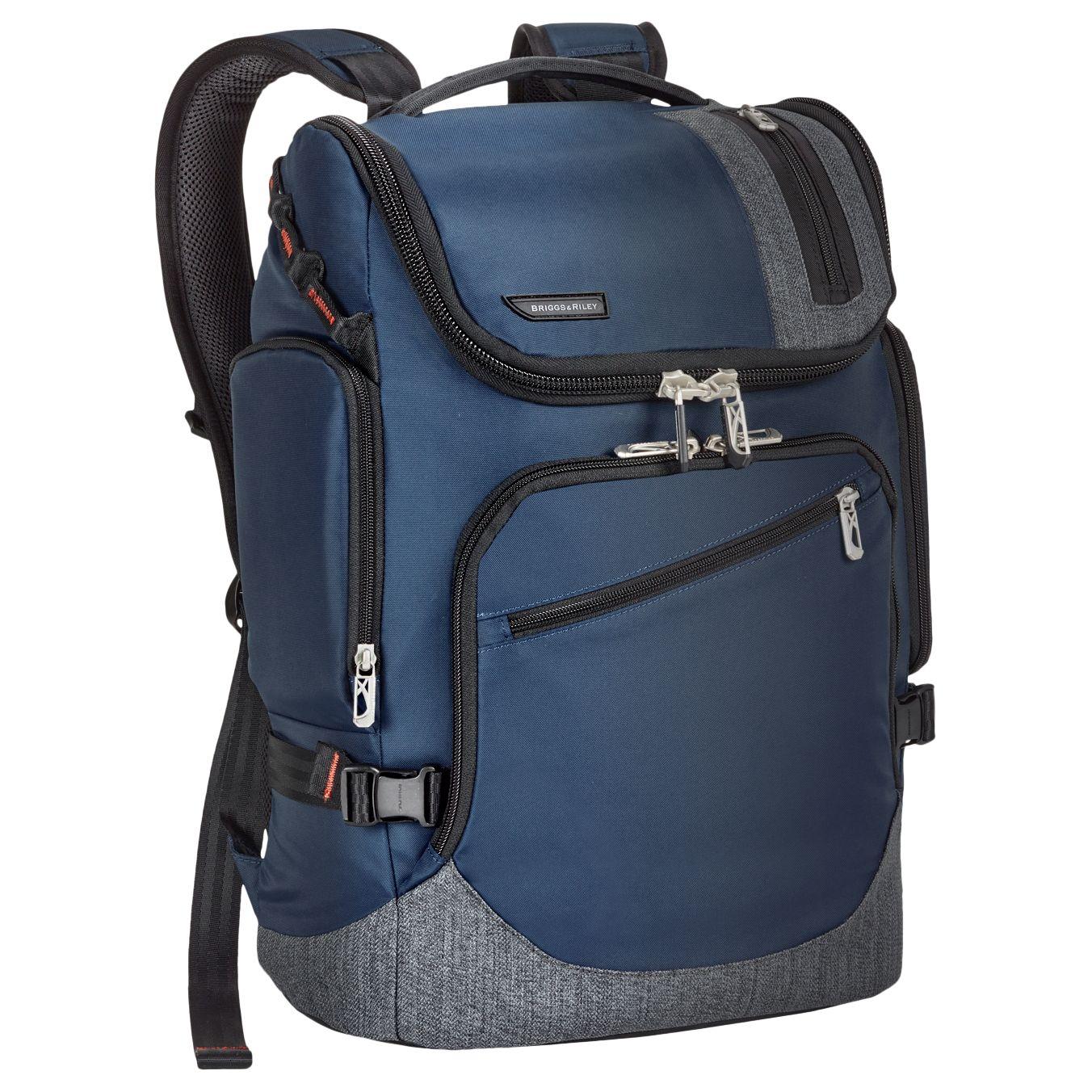 Briggs & Riley Briggs & Riley BRX Excursion Backpack, Blue