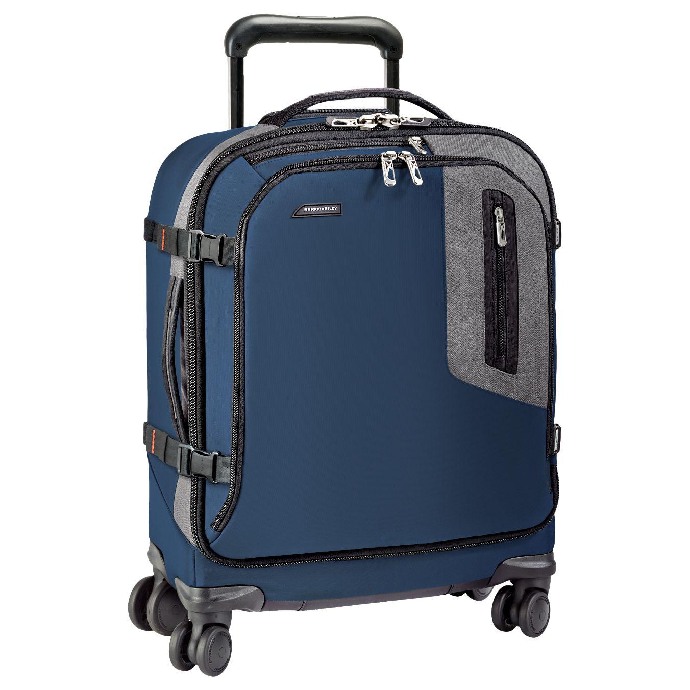 Briggs & Riley Briggs & Riley BRX Explore International Wide-Body Spinner Cabin Case, Blue
