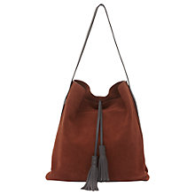 Buy Mint Velvet Flo Tassel Foldover Tote Online at johnlewis.com
