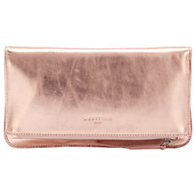 Buy Liebeskind Aloe F7 Leather Clutch Bag, Rose Gold Online at johnlewis.com