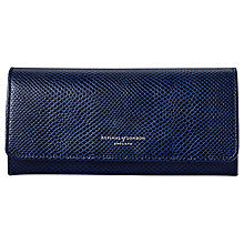 Buy Aspinal of London Julie Leather Purse, Midnight Online at johnlewis.com