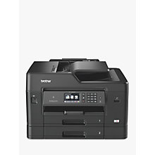 Buy Brother MFC-J6930DW Wireless All-in-One A3 Colour Inkjet Printer & Fax Machine with NFC Online at johnlewis.com