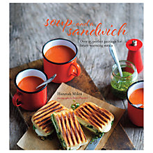 Buy Soup and a Sandwich Recipe Book Online at johnlewis.com